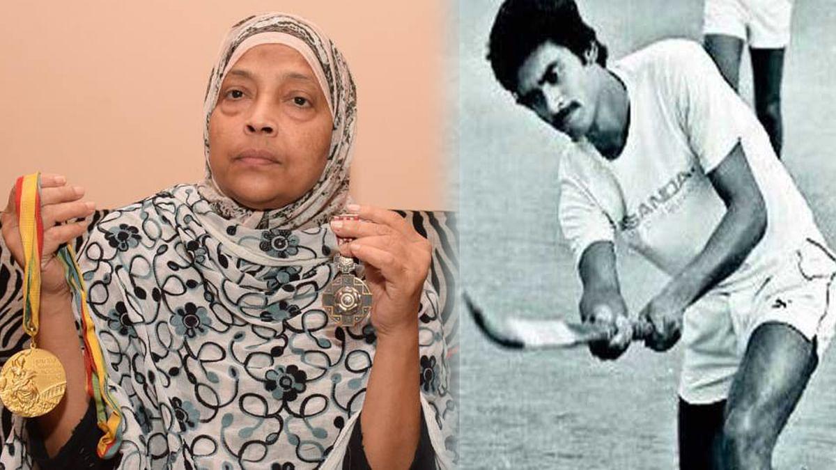 ہاکی کھلاڑی شاہد کی اہلیہ کا ایوارڈ واپس کرنے کا اعلان