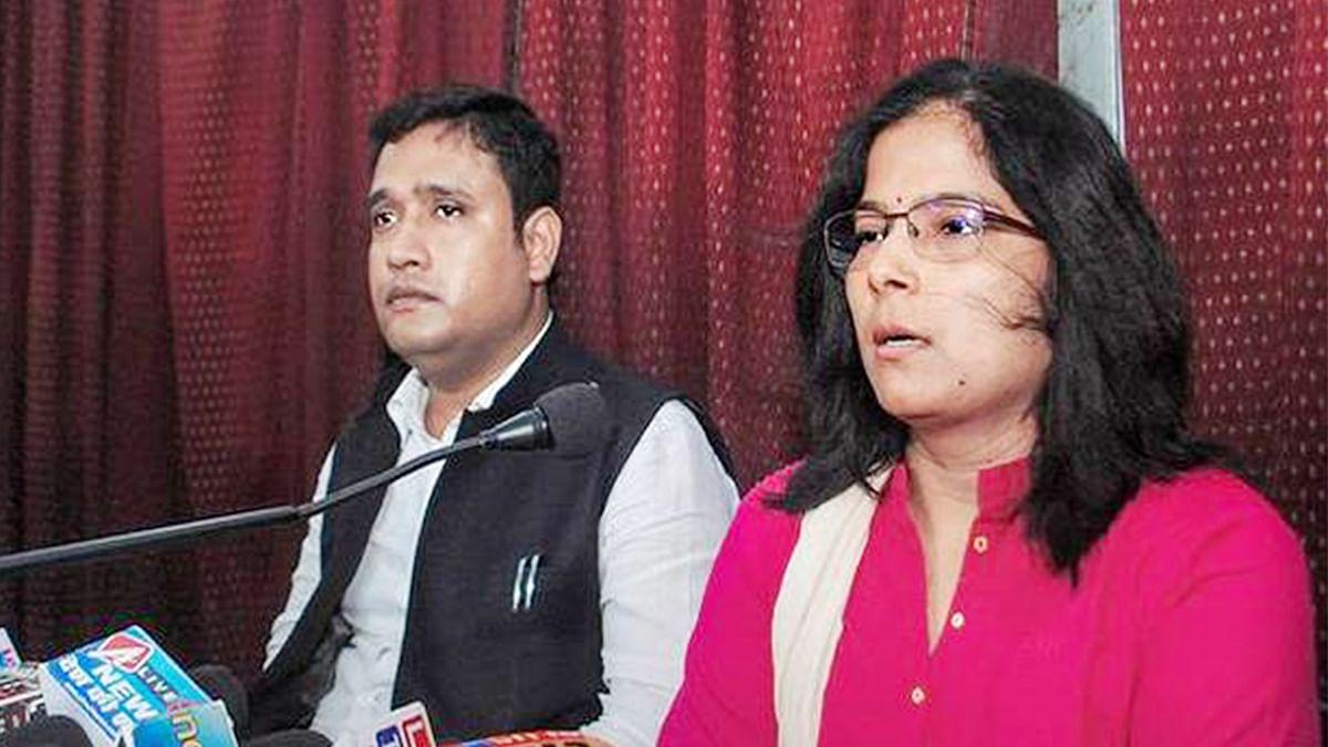 منا بجرنگی کی بیوی نے مرکزی وزیر پر لگایا قتل کا الزام