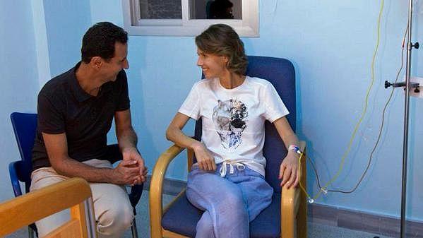 شامی صدر کی اہلیہ اسماء اسد موذی مرض میں مبتلا