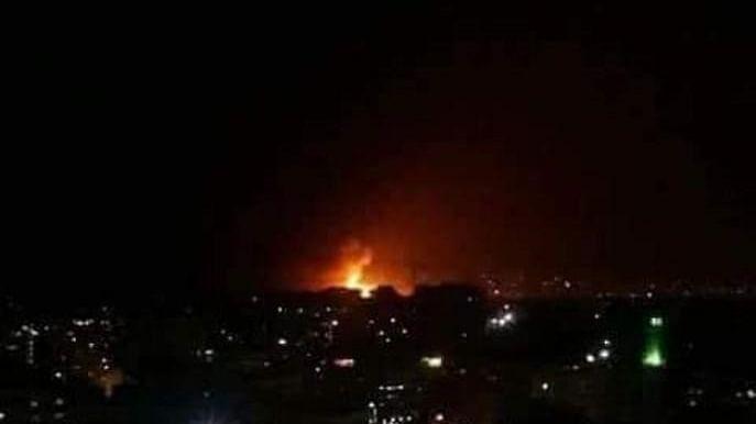 دمشق: فوجی ہوائی اڈا دھماکوں سے لرز اٹھا