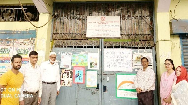 ڈاکٹر ذاکر حسین اسکول جعفرآباد میں سوچھ بھارت پکھواڑا-2018 کا شاندار آغاز