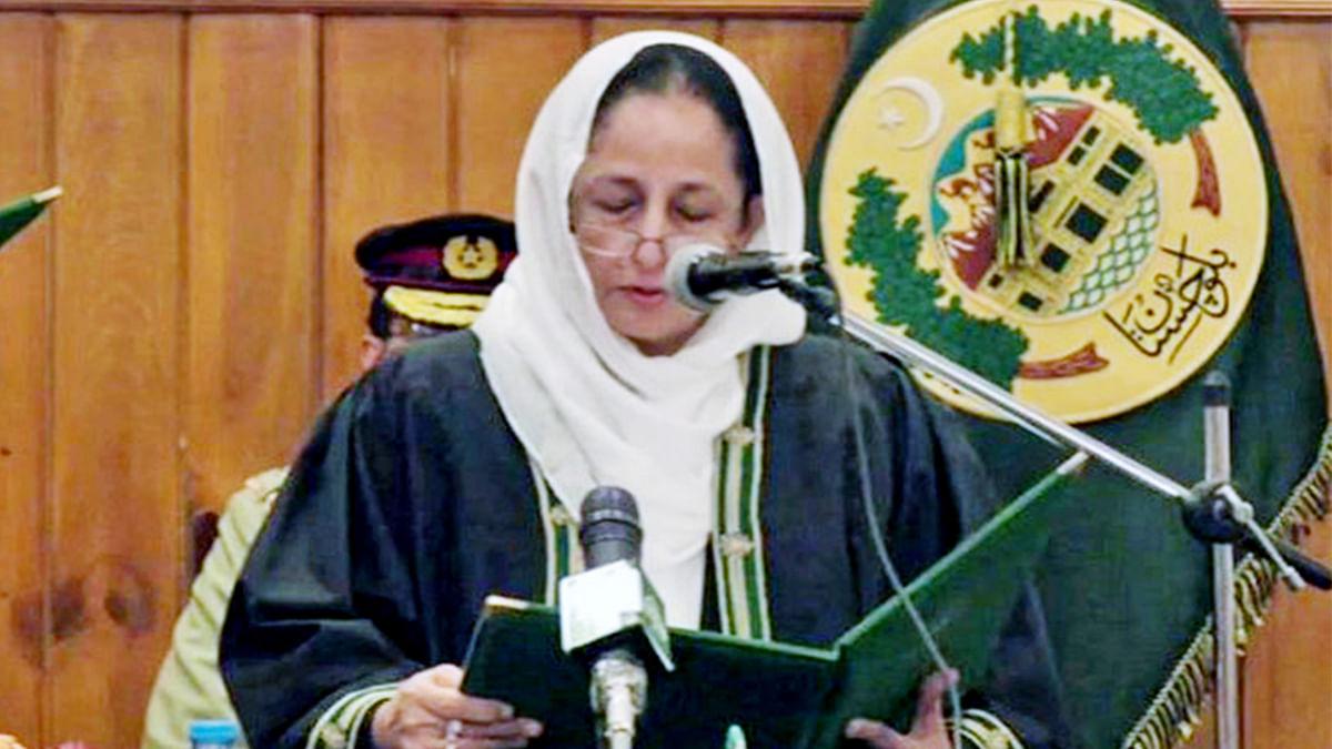 پاکستان: طاہرہ صفدر کو پہلی خاتون چیف جسٹس ہونے کا شرف حاصل ہوا