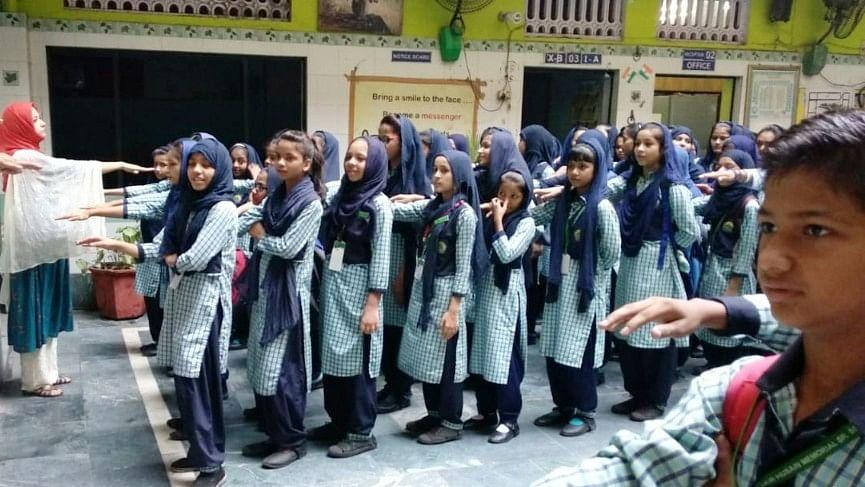 ڈاکٹر ذاکر حسین اسکول جعفرآباد میں یومِ اساتذہ پر مختلف سرگرمیوں کا انعقاد