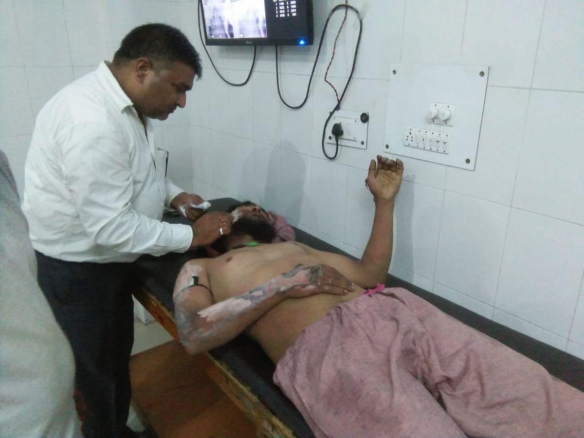 زخمی ہونے والے تعزیہ دار اسپتال میں علاج کے دوران