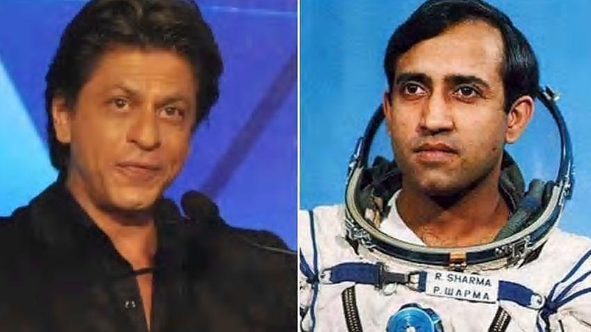 خلاباز راکیش شرما کی بایوپک میں نظر آئیں گے شاہ رخ خان