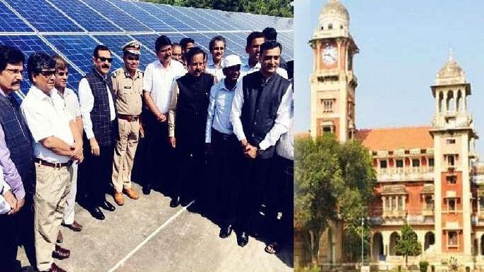 الہ آباد یونیورسٹی شمسی توانائی سے چلنے والی ملک کی پہلی یونیورسٹی بنی