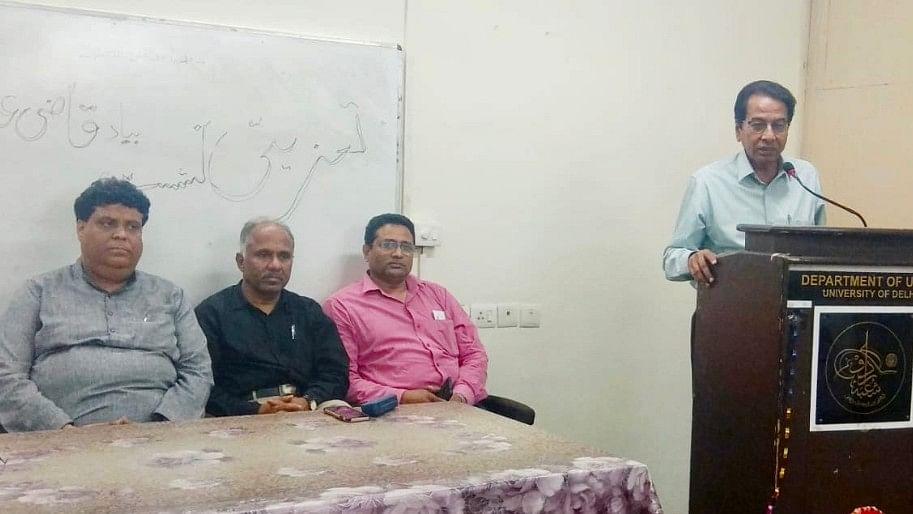 قاضی عبدالستار کے پاس بیان کو بیانیہ بنانے کا ہنر موجود تھا: پروفیسرصغیرافراہیم