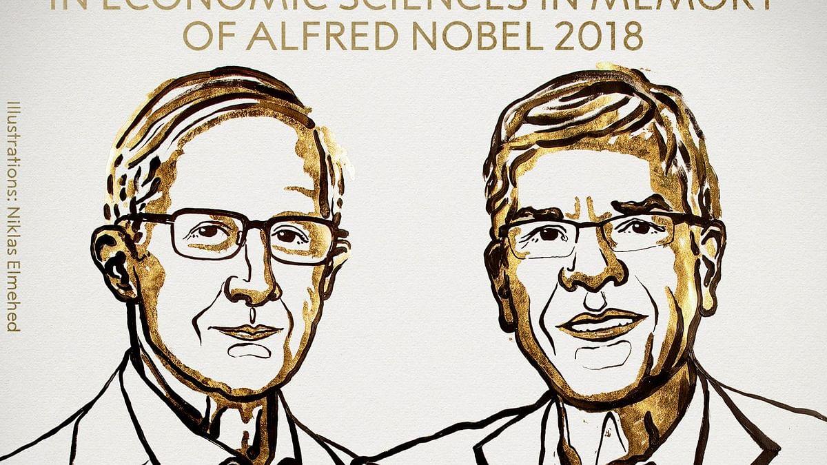 ولیم ڈی نارڈ ہارس اور پال ایم رومر اقتصادیات کے نوبل پرائز سے سرفراز
