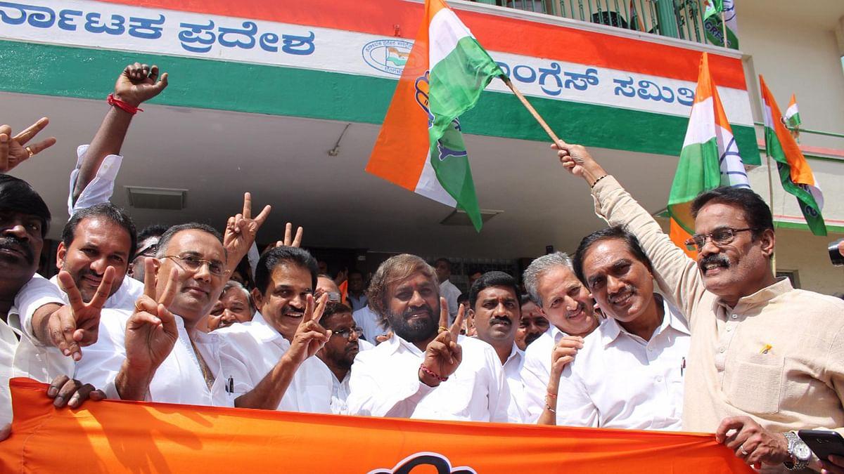 کرناٹک: ضمنی انتخابات میں کانگریس۔جے ڈی ایس کی جیت پر راہل کی مبارکباد