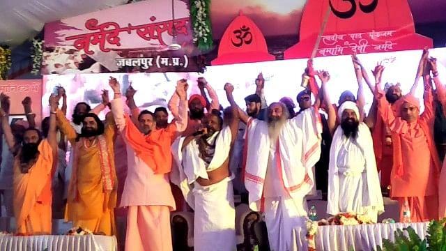 مدھیہ پردیش: سادھو-سنتوں نے بی جے پی کو دکھایا ٹھینگا، کانگریس کی حمایت کا اعلان