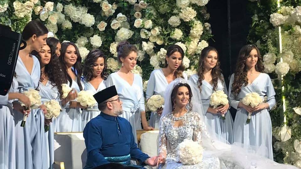 اسلام قبول کر چکی روسی حسینہ کی ملائشیائی بادشاہ سے شادی
