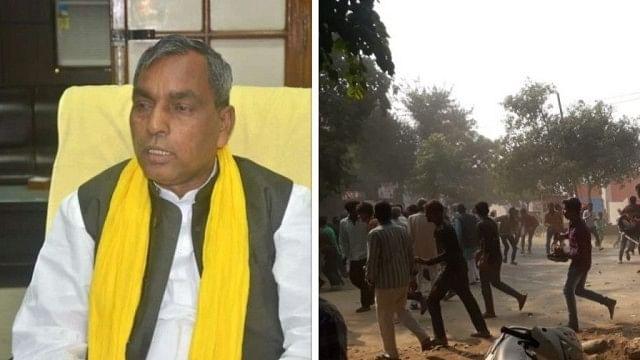 بلندشہر: فساد بھڑکانے میں بی جے پی شامل، راج بھر