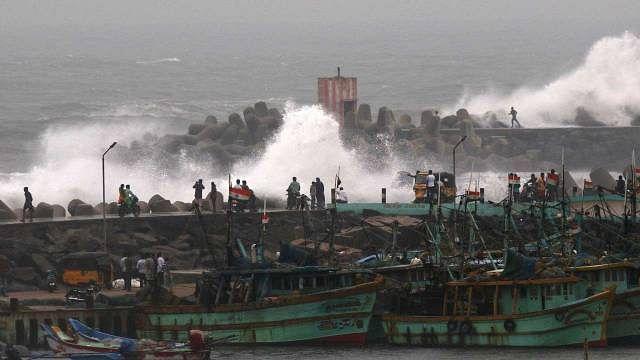 آندھرا پردیش: سمندری طوفان 'پیتھائی' کی تباہی سے فصلیں برباد