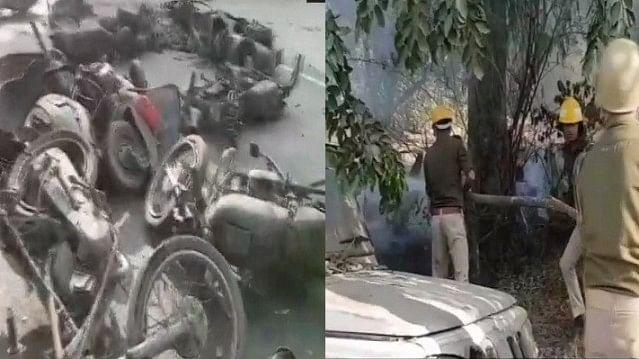 بلندشہر: سلاٹر ہاؤس کے خلاف احتجاج، مظاہرین اور پولس کی جھڑپ میں انسپکٹر کی موت