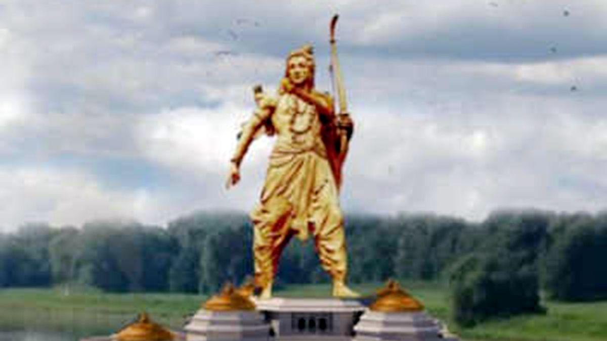 کیا یوگی کو معلوم ہے کہ  ہندو دھرم میں کھلے عام وسیع تر مجسمے نصب کرنا ممنوع ہے؟