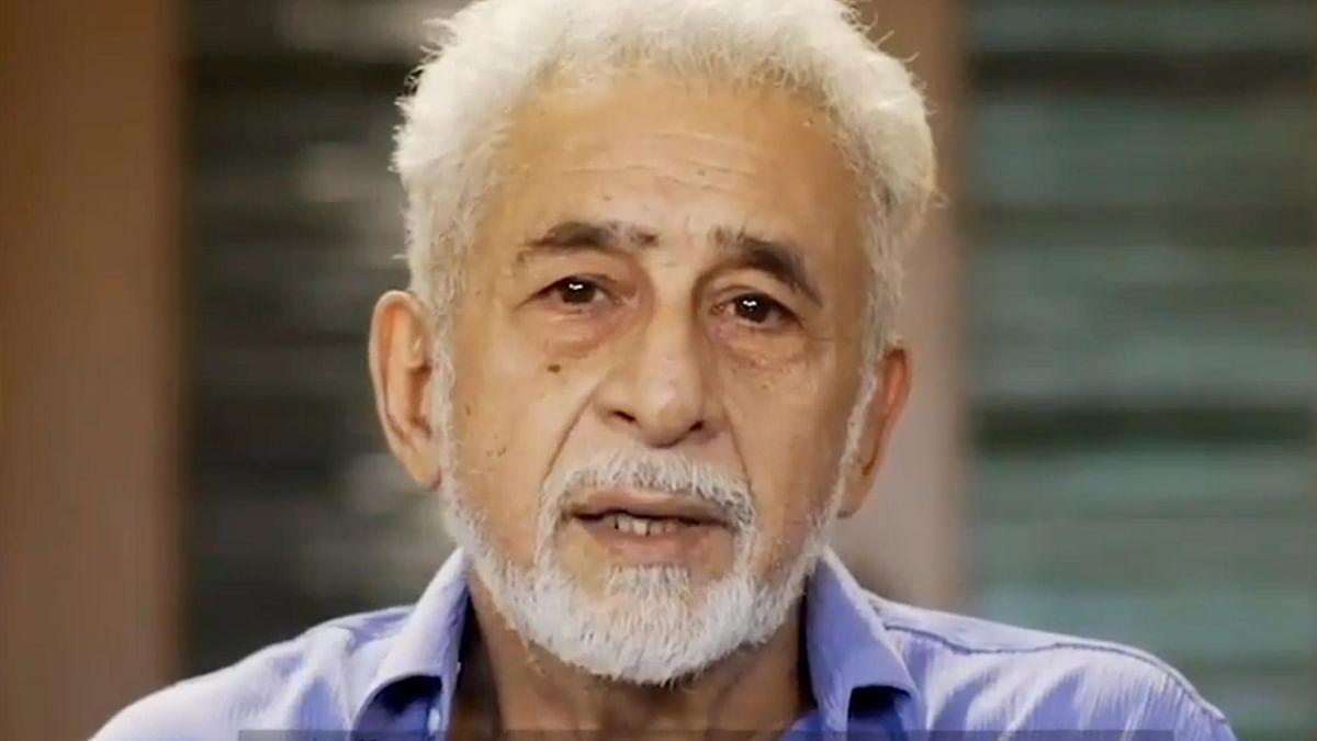 اداکار، فنکار، ادیب شاعر سب خطرے میں، کیا ہمارے آئین کی یہی منزل ہے: نصیر الدین شاہ کا سوال
