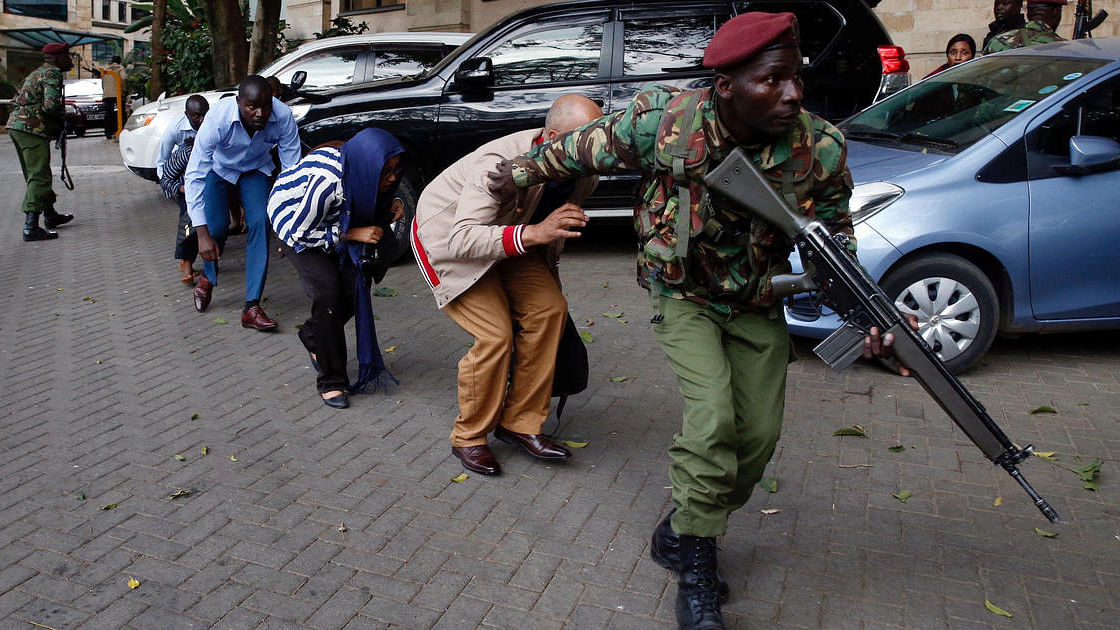 کینیا: نیروبی کے ہوٹل میں خودکش بم دھماکہ، 15 ہلاک، درجنوں زخمی