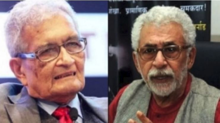 نصیرالدین شاہ کی حمایت میں امرتیہ سین نے بھی دیا بیان، کہا 'جو کچھ ہو رہا وہ قابل اعتراض'