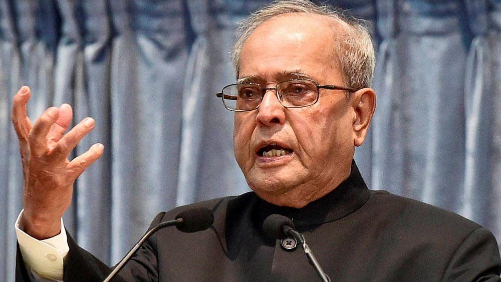 سابق صدر پرنب مکھرجی نے لوک سبھا میں اراکین کی تعداد 1000 کرنے کا دیا مشورہ