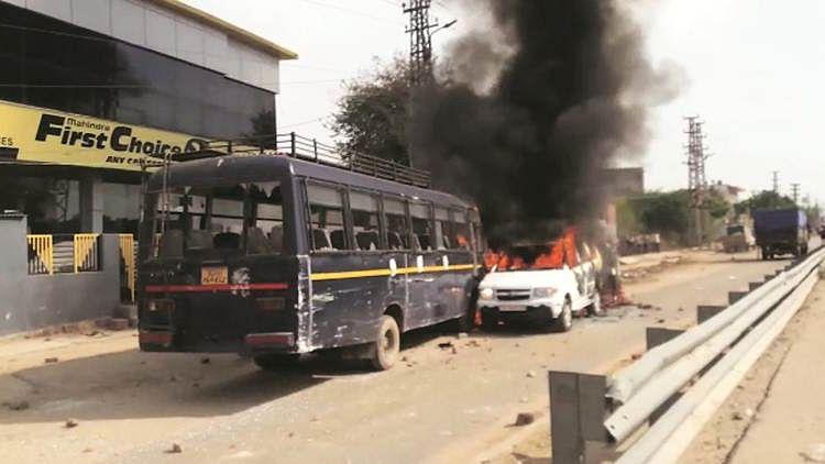 مودی حکومت کے خلاف گوجروں کی تحریک نے پکڑا زور، جے پور- آگرہ شاہراہ بند