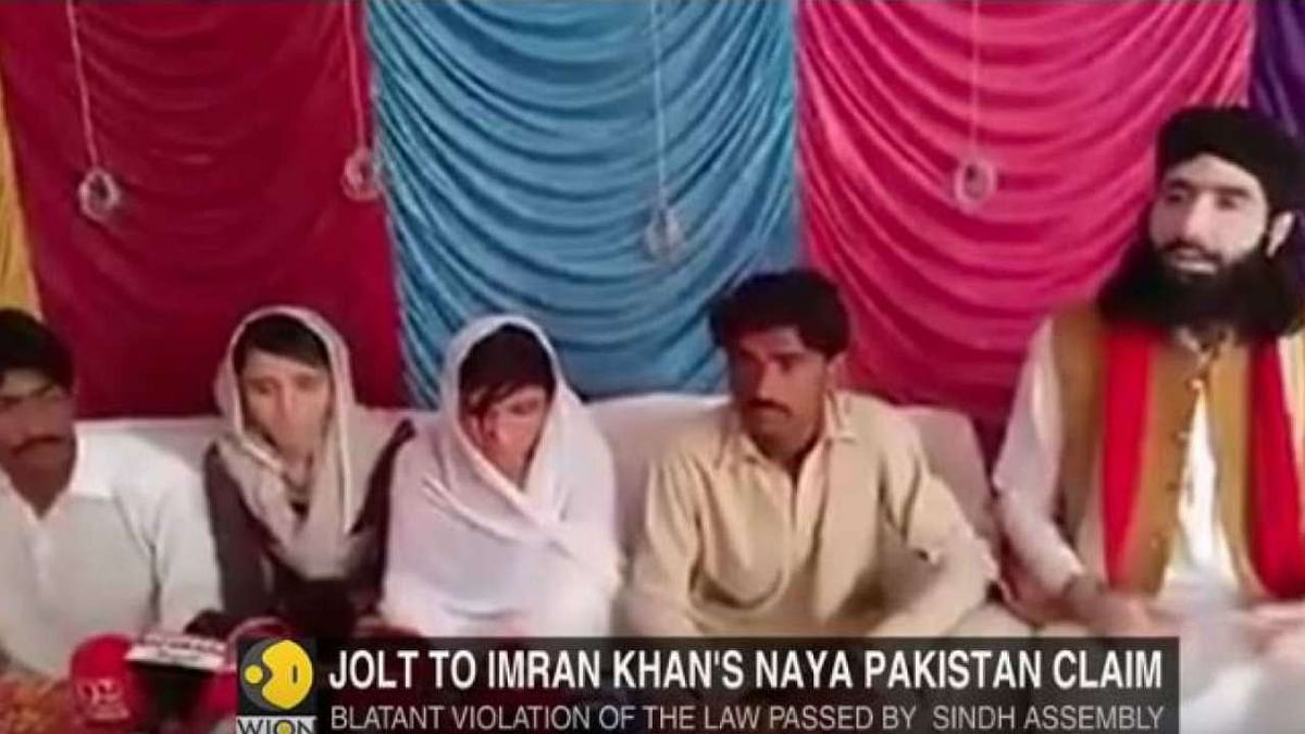 پاکستان: ہندو بہنوں کا نکاح کرانے اور شریک ہونے والے 7 افراد گرفتار