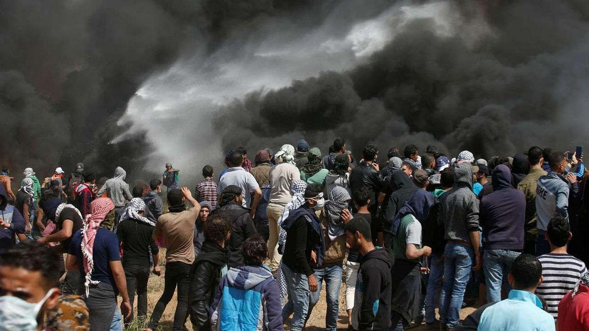 اسرائیلی فضائیہ کا حماس کے ٹھکانوں پر حملہ