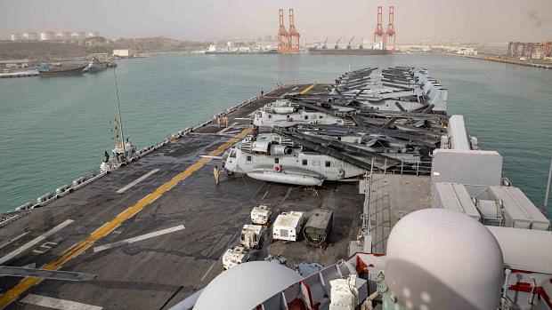 عمان کی دو بندرگاہوں تک امریکی فوج کی رسائی حاصل