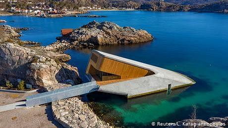 یورپ کا پہلا زیر آب ریستوران