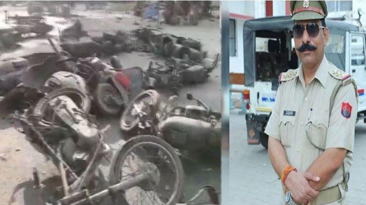 بلند شہر تشدد: انسپکٹر سبودھ قتل کی چارج شیٹ سے بجرنگ دل رہنما یوگیش راج کا نام غائب