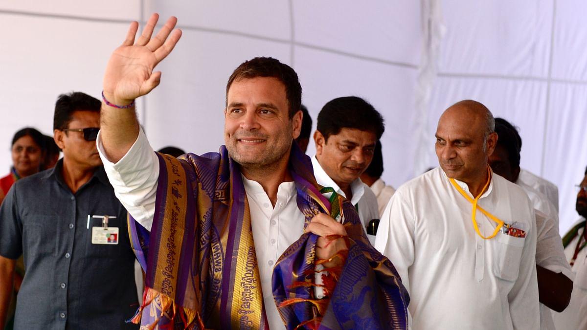 اقتدار میں آنے پر آندھرا کو خصوصی درجہ دیا جائے گا: راہل گاندھی