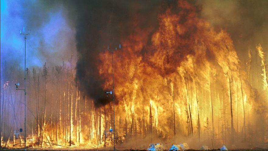 چین: ہفتہ کے روز لگی آگ نے لی 24 فائر بریگیڈ اہلکاروں کی جان