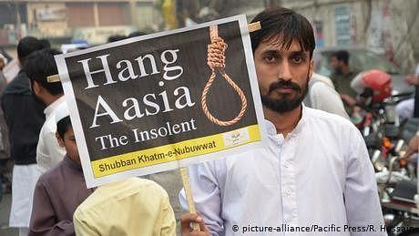 کیا آسیہ بی بی اب بھی پاکستان میں قید ہے؟