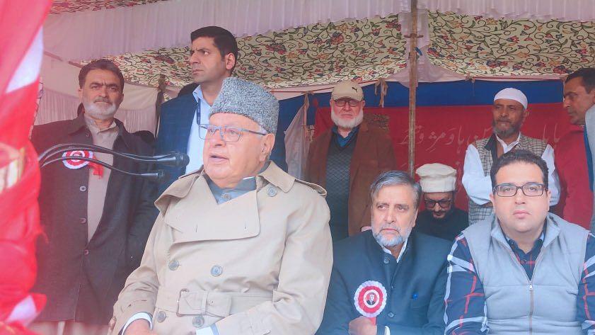 'کشمیر دشمن اقدامات کے خلاف صف آراء ہونے کی اشد ضرورت'
