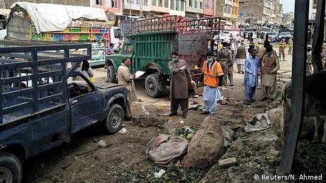 پاکستان: کوئٹہ حملے کی ذمہ داری داعش نے قبول کر لی