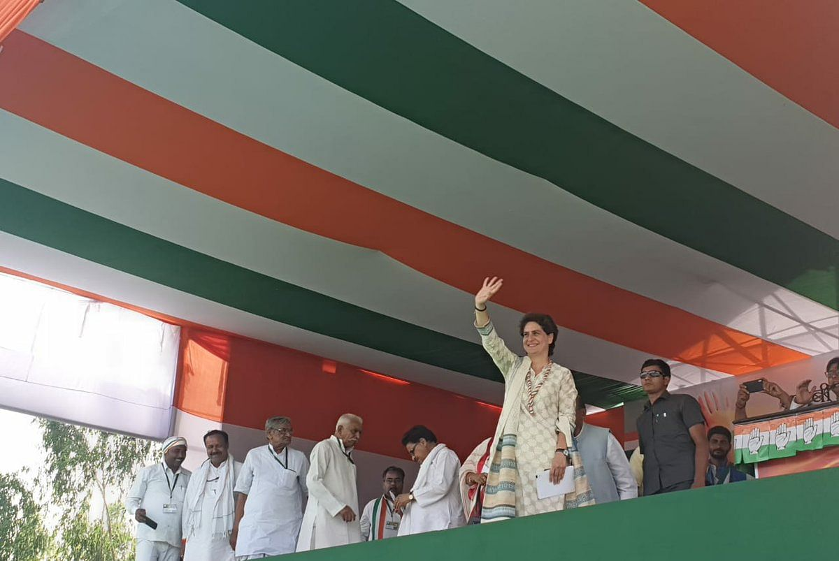 مودی نے اپنے ووٹروں کو بھی نظر انداز کردیا: پرینکا گاندھی