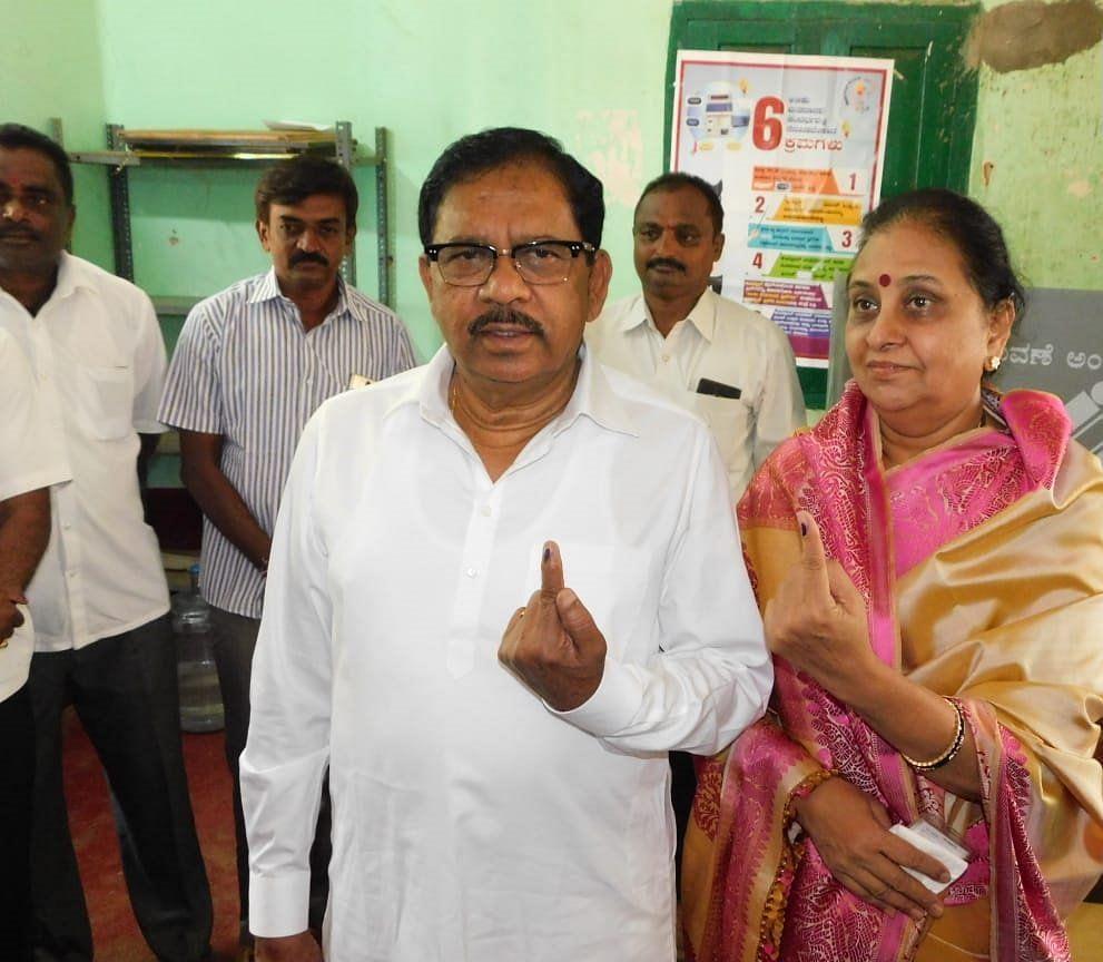 کرناٹک کے نائب وزیر اعلیٰ جی پرمیشور