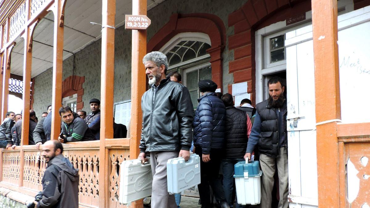 ہائی پروفائل سری نگر پارلیمانی حلقے میں ووٹنگ کے لئے سیکورٹی کے انتہائی سخت انتظامات