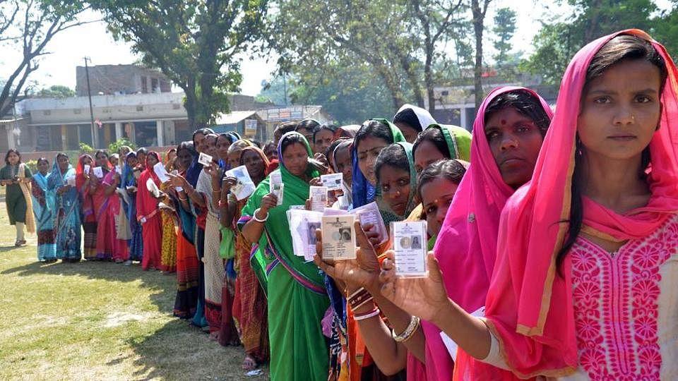 بہار کی 8 لوک سبھا سیٹوں پر الیکشن، اب تک 15.85 فیصد پولنگ درج