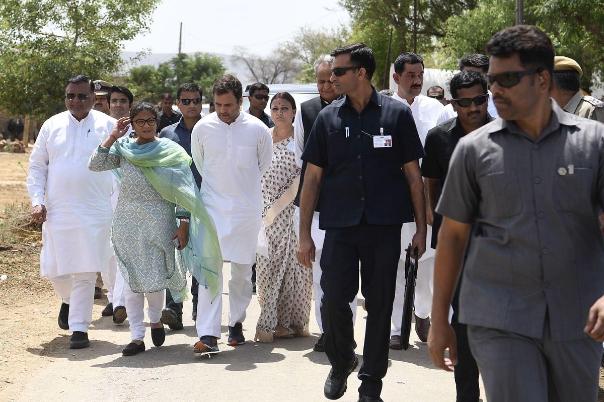 الور گینگ ریپ: متاثرہ خاتون سے راہل گاندھی کی  ملاقات، انصاف دلانے کی یقین دہائی