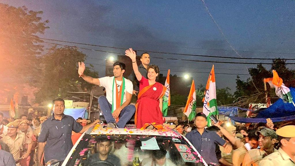انتخابی مہم کے آخری دن پرینکا گاندھی کا طوفانی دورہ، 4 ریلیوں سے کریں گی خطاب