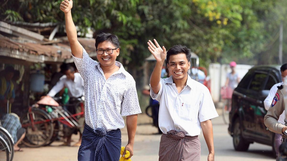میانمار میں 500 دنوں تک جیل میں رہنے کے بعد رائٹر کے صحافی رہا