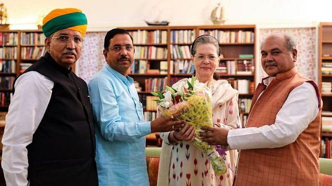 سونیا گاندھی سے ملاقات کرنے پہنچے مودی کے 3 بڑے وزیر، جانیں کیوں!