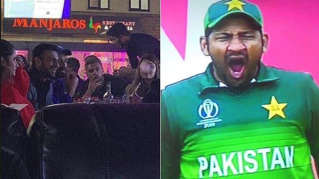 ہندوستان سے مقابلہ کے قبل والی رات کو کیا کر رہی تھی پاکستانی کرکٹ ٹیم