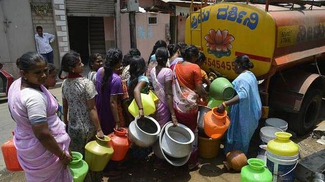 بنگلور میں پانی کی شدید قلت