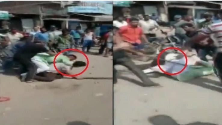 ویڈیو: یوگی حکومت میں بھیڑ کی غنڈہ گردی، دو فوجی جوانوں کو پیٹ پیٹ کر کیا گیا لہو لہان