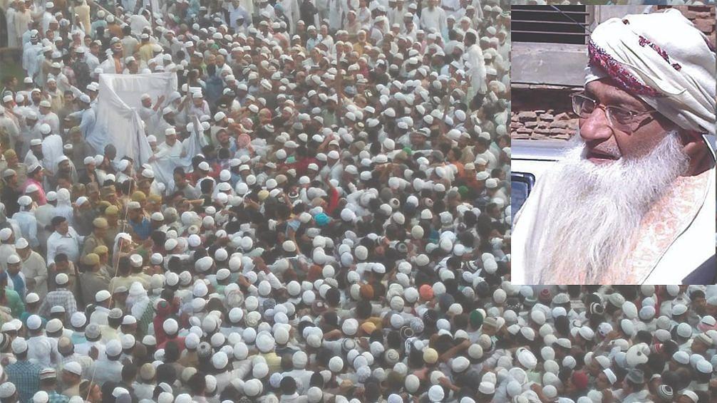 جید مفسر قرآن  مفتی افتخار الحسن کاندھلویؒ کے جنازہ میں ہزاروں سوگوار ہوئے شریک