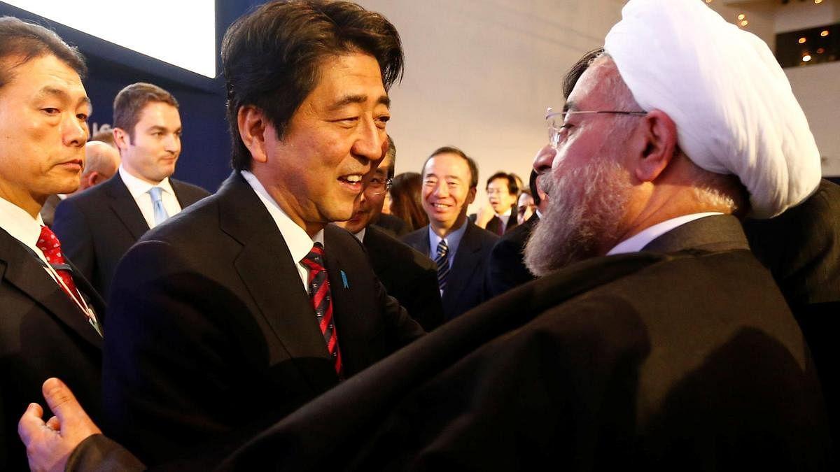 ایران کے 3 روزہ دورے پر جاپان کے وزیر اعظم شنزوآبے