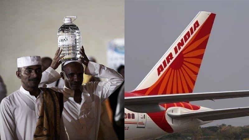 ائیر انڈیا کو آب زم زم پر پابندی عائد کرنا پڑا مہنگا، تنازعہ کے بعد نوٹس لیا واپس