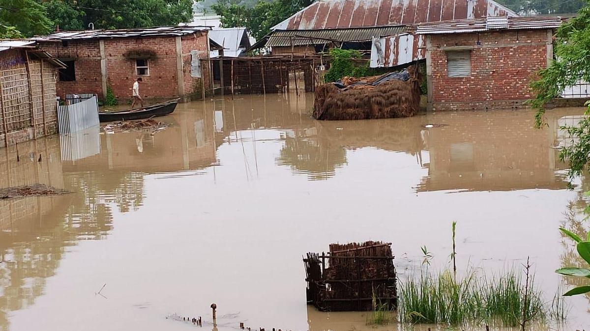 بہار میں سیلاب سے تباہی جاری، 33 افراد ہلاک، ہزاروں گھر تباہ، 26 لاکھ افراد متاثر