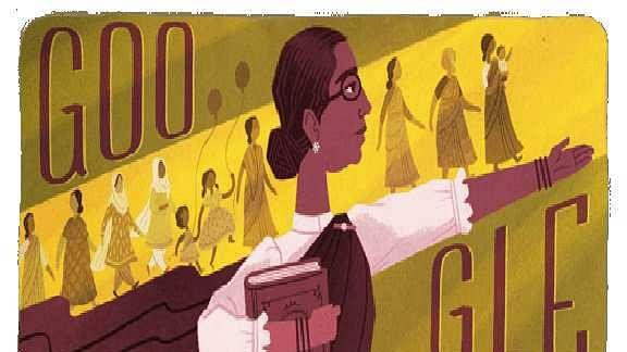 گوگل نے ملک کی پہلی خاتون رکن اسمبلی متھولكشمی ریڈی پر بنایا ڈوڈل